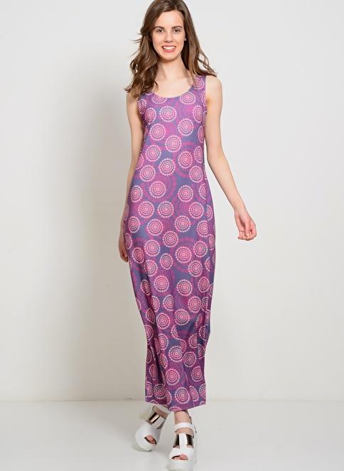T-Box Elbise Renkli